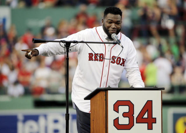 David Ortiz (AP Photo/Elise Amendola)