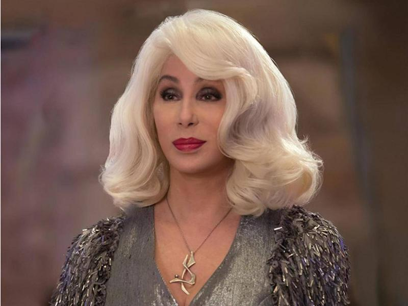 Cher at 72 has just secured a cameo role in Mamma Mia (Universal)