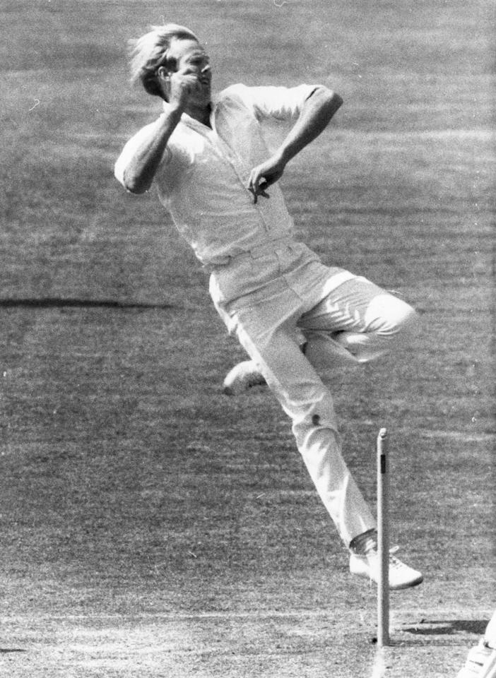 24th June 1974:  Sussex and England cricketer T Greig  in action.  (Photo by Evening Standard/Getty Images)