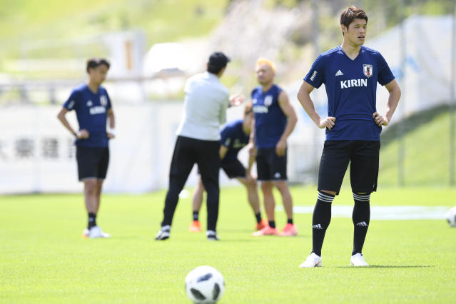 <p>Hiroki Sakai is part of the Japan squad valued at €612m. </p>