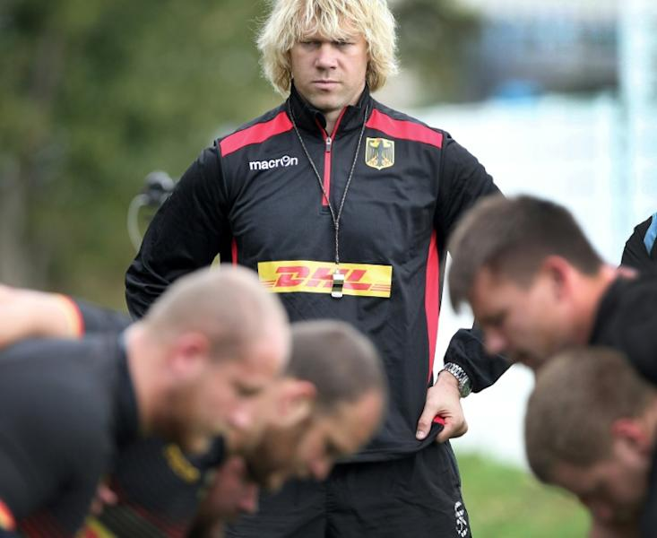 Germany forwards coach Mouritz Botha says his side expect a tough physical battle