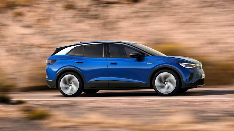 2021 Volkswagen ID.4 Exterior In Motion