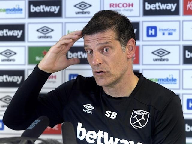 West Ham turned down Renato Sanches and Grzegorz Krychowiak because Slaven Bilic is 'happy with his squad'