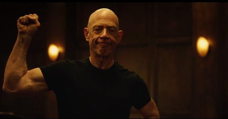 JK Simmons in 2014's 'Whiplash,' the role that won him the Oscar for Best Supporting Actor (credit: Lionsgate)