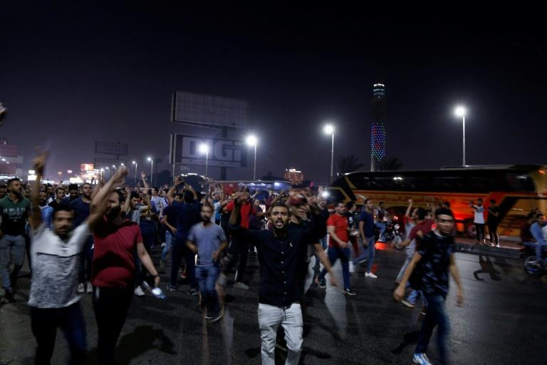 The protests came on the back of an online call by Mohamed Aly, an exiled Egyptian businessman, for Sisi to be toppled