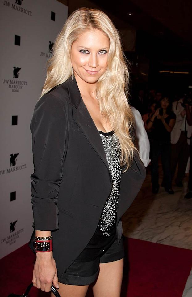 "Anna Kournikova turns 30 John Parra/<a href=""http://www.wireimage.com"" target=""new"">WireImage.com</a> - November 4, 2010"