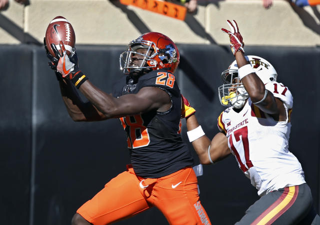 Oklahoma State's James Washington is one of the best receivers in the country. (AP Photo/Sue Ogrocki, File)