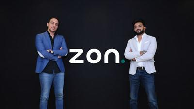 Marwan Al Damrawi (left) with Arif Saiyad, CEO and Co-Founder of ZON