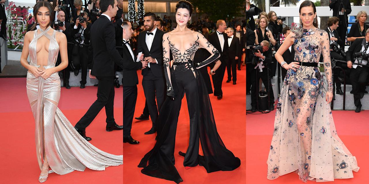 The Most Naked Dresses on The Cannes Red Carpet images