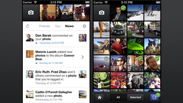 Facebook Continues to Improve For iPhone With Camera App Update