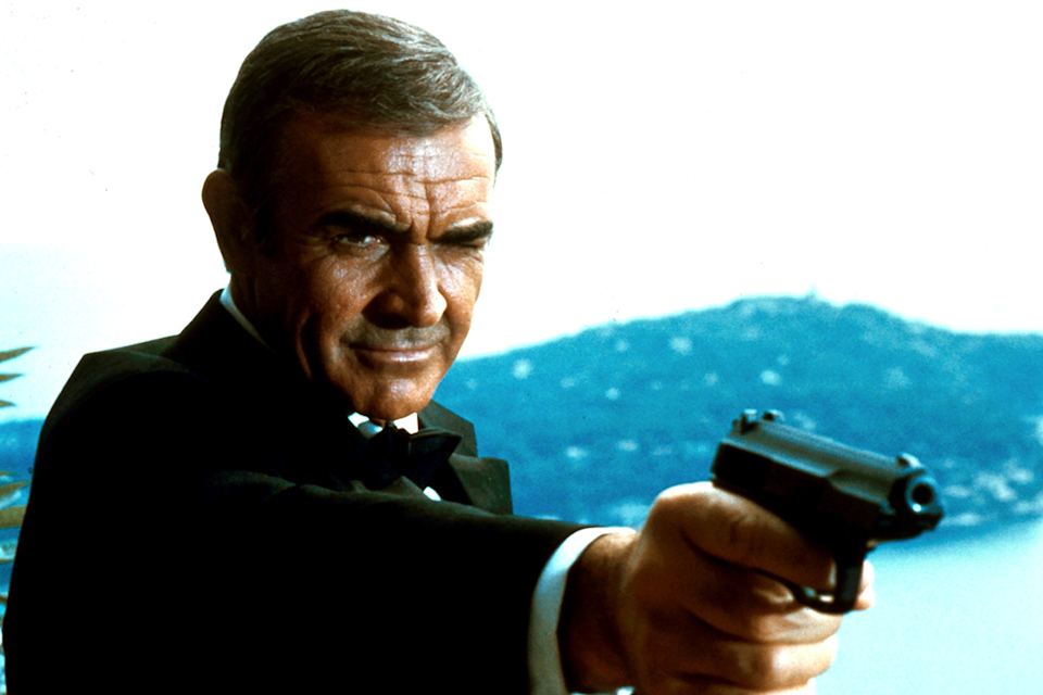 Sean Connery in 1983's 'unofficial' Bond movie 'Never Say Never Again' (credit: Warner Bros)