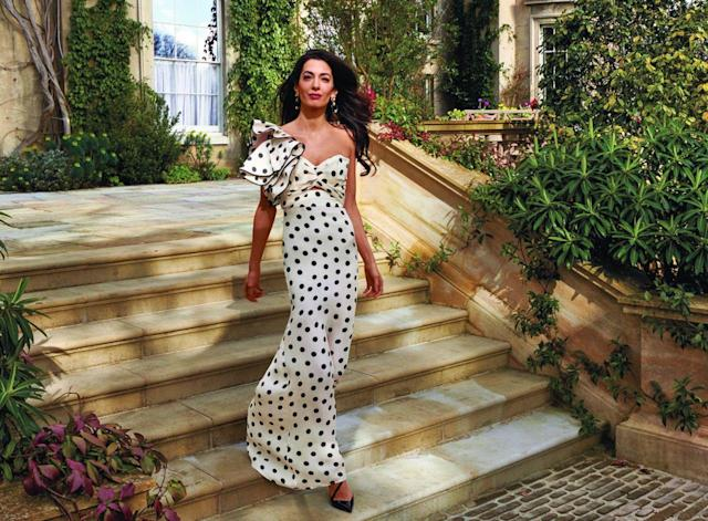 Amal Clooney in <em>Vogue</em> (Photo: Annie Leibovitz/Vogue)