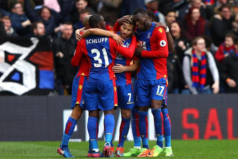 Upturn: Palace have won three on the bounce without conceding: Getty Images