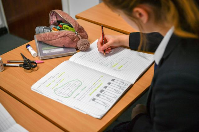The government is planning for schools to start reopening on 1 June at the earliest. (Ben Birchall/PA Images via Getty Images)