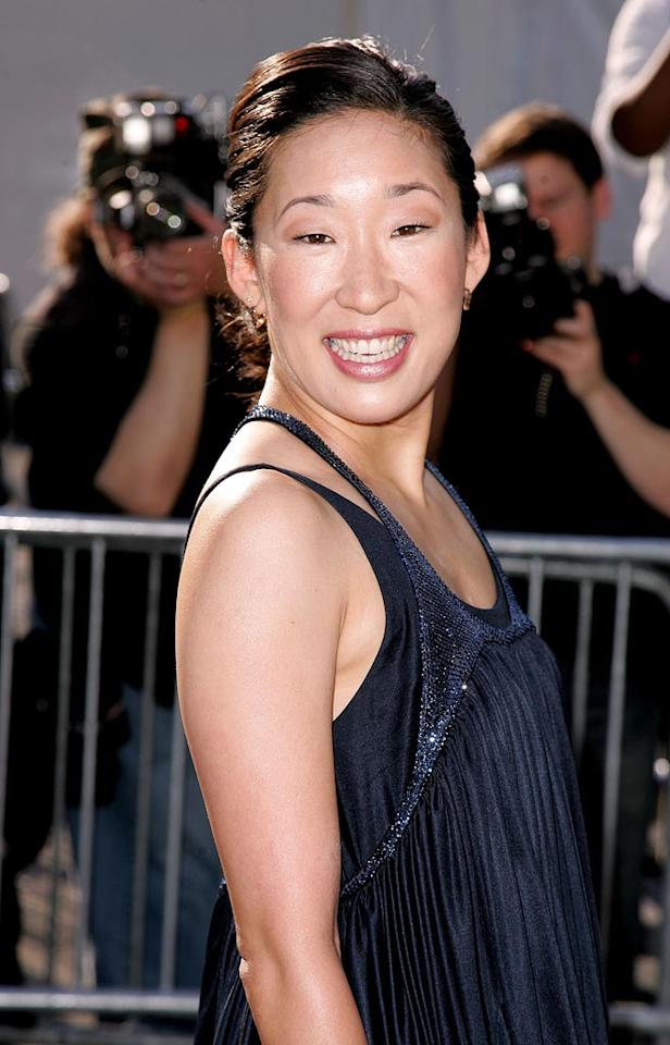 "Uh Oh! Actress Sandra Oh has taken some more flattering pictures in the past. James Devaney/<a href=""http://www.wireimage.com"" target=""new"">WireImage.com</a> - May 15, 2007"