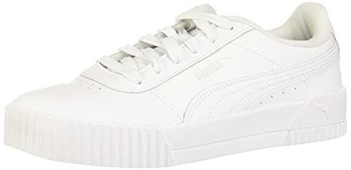 """<p><strong>PUMA</strong></p><p>amazon.com</p><p><strong>$55.00</strong></p><p><a href=""""https://www.amazon.com/dp/B07HJLNP3N?tag=syn-yahoo-20&ascsubtag=%5Bartid%7C10056.g.36791143%5Bsrc%7Cyahoo-us"""" rel=""""nofollow noopener"""" target=""""_blank"""" data-ylk=""""slk:Shop Now"""" class=""""link rapid-noclick-resp"""">Shop Now</a></p><p>Nearly 10,000 shoppers gave these leather Pumas a perfect rating.</p>"""