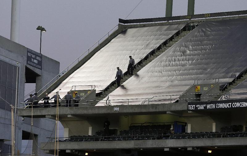 Man: No fear trying to catch woman at stadium