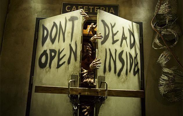 The Walking Dead attraction at Universal Studios hollywood opens July 4.