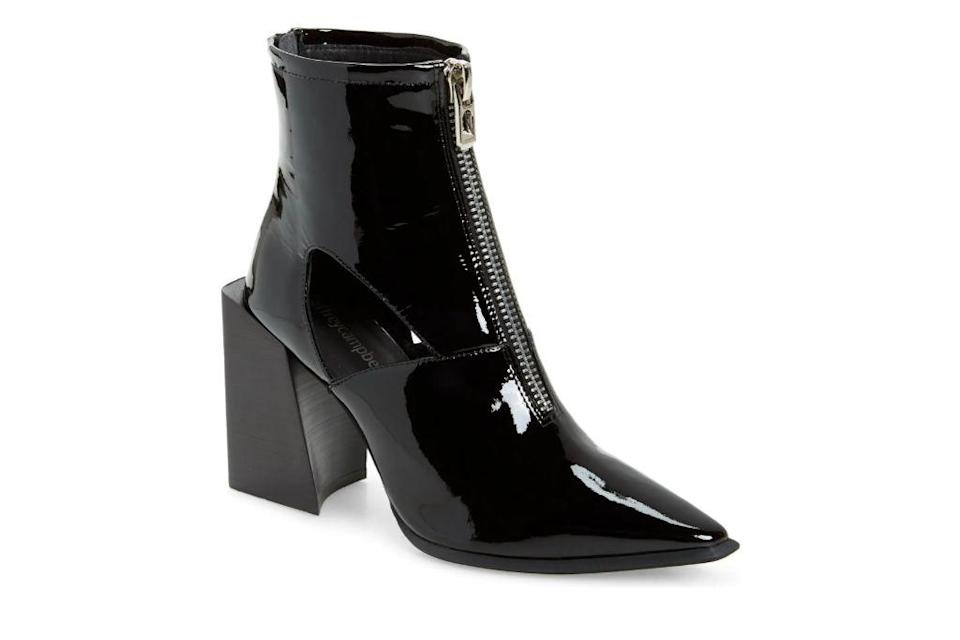 Jeffrey Campbell, Ziren-2 Bootie, Black Booties