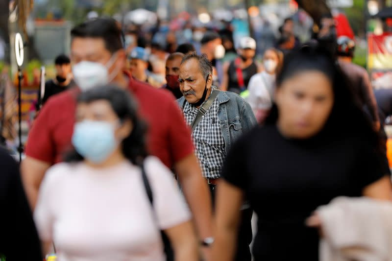 FILE PHOTO: Outbreak of the coronavirus disease (COVID-19) in Mexico City