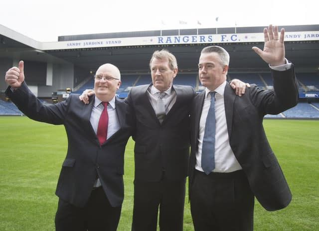 King, along with allies John Gilligan and Paul Murray, seized control of Rangers in 2015
