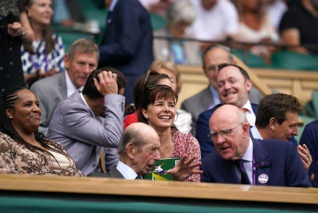 Darcey Bussell watches on