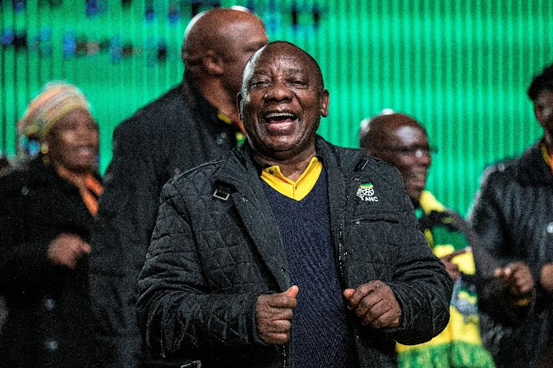 Deputy President Cyril Ramaphosa led the historic negotiations in the 1990s to end apartheid before launching a business career (AFP Photo/GIANLUIGI GUERCIA)