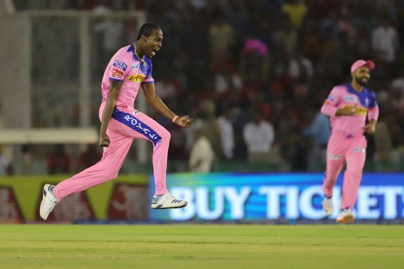 Jofra Archer was the leading pacer at the camps of RR