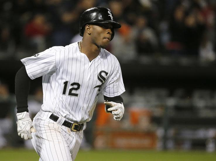 Chicago White Sox shortstop Tim Anderson seems to have his priorities straight. (AP)