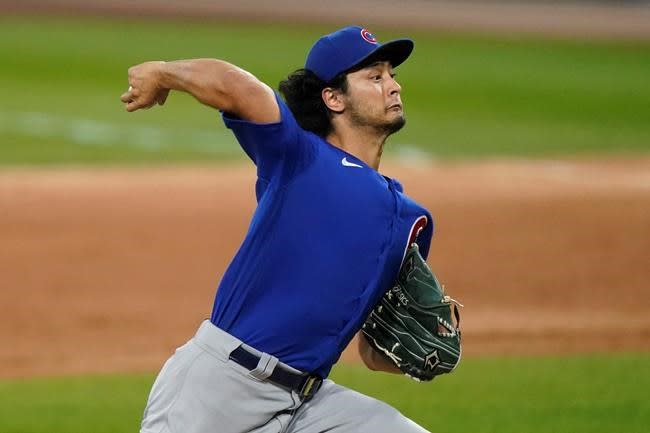 LEADING OFF: Cubs' Darvish tries to save season vs Marlins