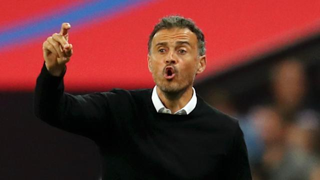 """Luis Enrique's return to football is the """"best news"""" of the sudden Spain coaching switch, says Barcelona defender Gerard Pique."""