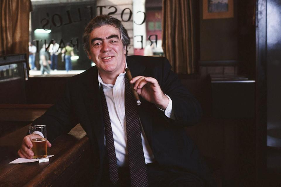 Jimmy Breslin At Costello's