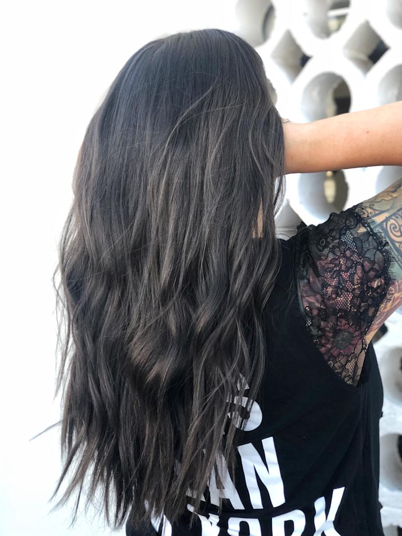 cool toned balayage is the unexpected technique that adds