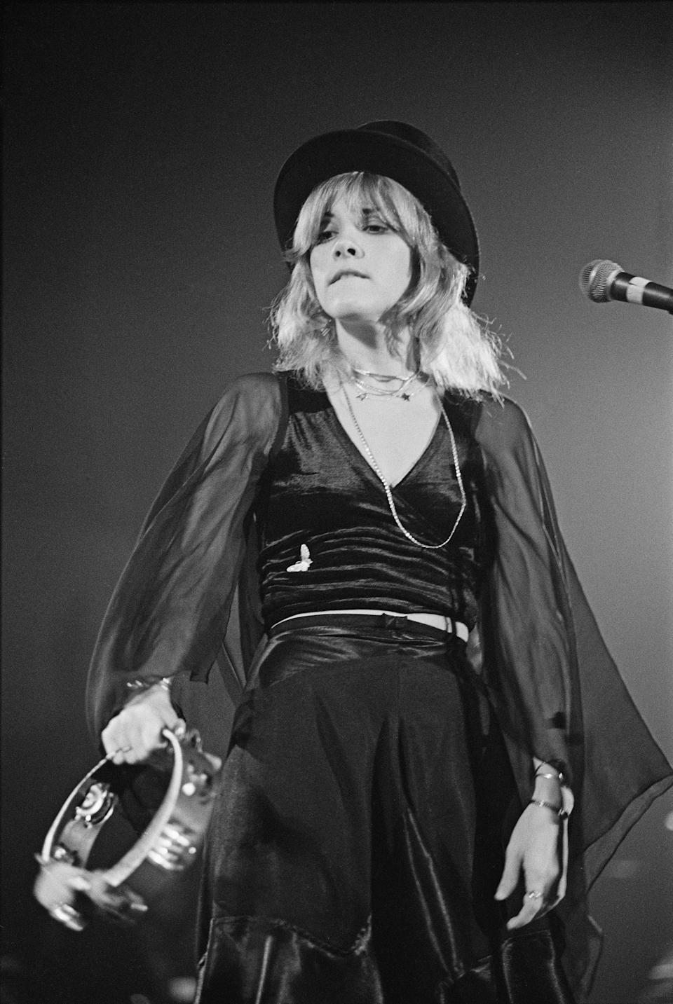 Stevie Nicks in 1975. (Photo: Fin Costello/Redferns/Getty Images)