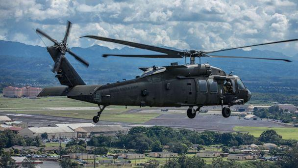 PHOTO: A UH-60 Blackhawk helicopter, Oct. 31, 2019, at Schofield Barracks, Hawaii. (Sgt. Sarah Sangster/US Army)