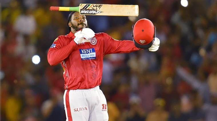 Chris Gayle has scored six hundreds in IPL cricket.