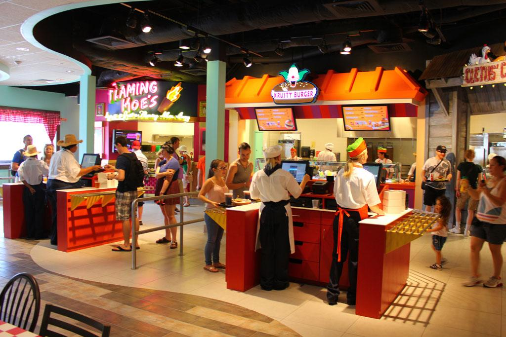 "If you close your eyes, you can practically hear the arteries hardening.<br /><br />Check out more photos at <a href=""http://www.insidethemagic.net/2013/06/krusty-burger-moes-tavern-open-at-universal-orlando-where-simpsons-fast-food-boulevard-offers-a-taste-of-springfield/"" target=""_blank"">InsidetheMagic.net</a>"