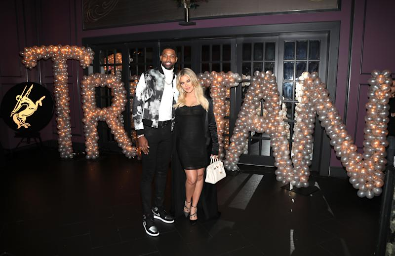 "Khloe Kardashian responded to a meme claiming that she ""hates"" ex Tristan Thompson."