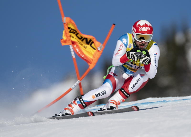 Janka fastest again in training for World Cup downhill