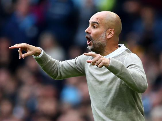 Manchester City manager Pep Guardiola (Getty Images)