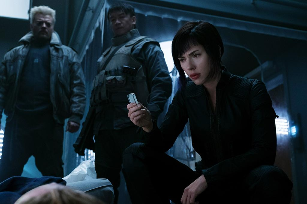 <p>Even setting aside the whitewashing controversy that plagued this live-action adaptation of the 1995 anime movie, Rupert Sanders's film — about a robot cop with a human brain/soul (Scarlett Johansson) — is an unimaginative bore. Full of ho-hum sci-fi set pieces as well as recycled <em>Blade Runner</em> imagery and themes, it's a tedious slog that crashes long before its limp finale. — <em>Nick Schager </em>(Photo: Everett Collection) </p>