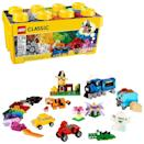 <p>This <span>Lego Classic Medium Creative Brick Box</span> ($27) has 484 pieces, so there are plenty of blocks to go around for two (or more!) kids.</p>
