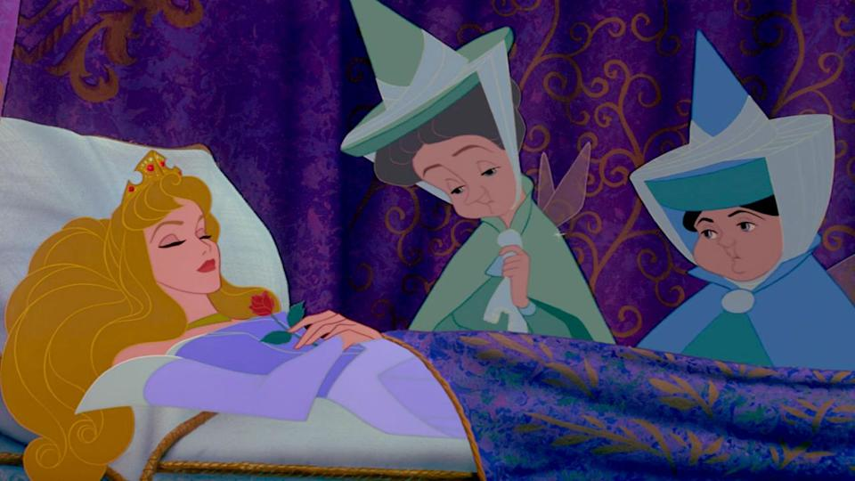 <p> Based on the Charles Perrault fairytale, while also incorporating music from Tchaikovsky&#x2019;s ballet of the same name, Sleeping Beauty sees a beautiful young princess named Aurora targeted by a curse from the evil fairy Maleficent. Before the sun sets on her 16th birthday, Aurora will prick her finger on a spinning wheel and be consumed by an endless sleep. The only way the curse can be lifted is through the power of true love&#x2019;s kiss.&#xA0; </p> <p> Sleeping Beauty is the most beautiful Disney film ever made, with an animation style modelled after medieval tapestries and illuminated manuscripts. And thanks to the classical touch in the film&#x2019;s score, the final film feels so elegant and refined &#x2013; it&#x2019;s a swoon-worthy dream just like the one Aurora sings of, where she&#x2019;s united with her handsome prince. Add to that, Maleficent&#x2019;s cackle and haughty air (she only unleashes the curse because she&#x2019;s offended she wasn&#x2019;t invited to the christening) makes her an all-time great among the Disney villains.&#xA0; </p>