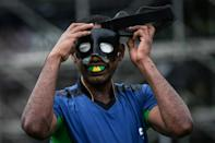 Brazil started their five-a-side Paralympic campaign with a 3-0 win over China (AFP/Yasuyoshi CHIBA)