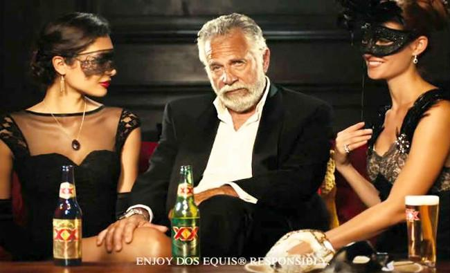 e85804b304 The Most Interesting Man In The World' Doesn't Drink Dos Equis ...