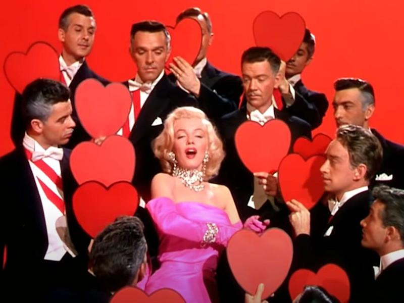 marilyn monroe gentlemen prefer blondes