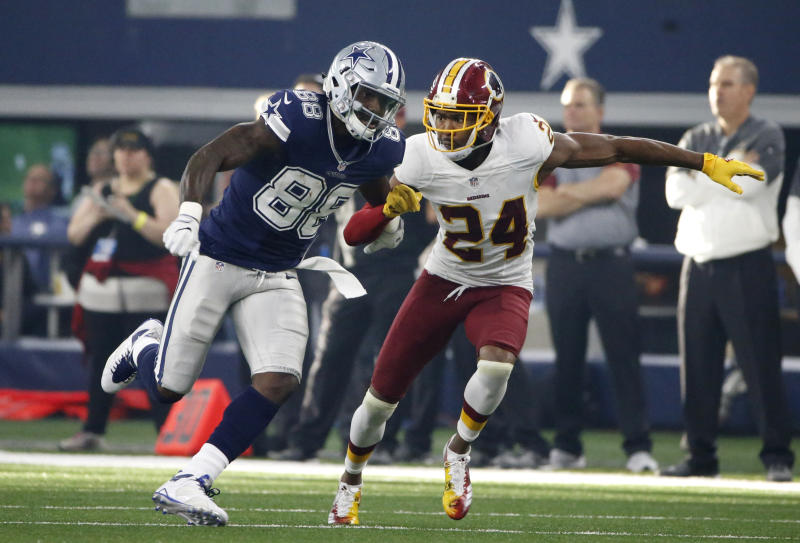 Dez Bryant vs. Josh Norman would make for some spirited practices for Washington. (AP)