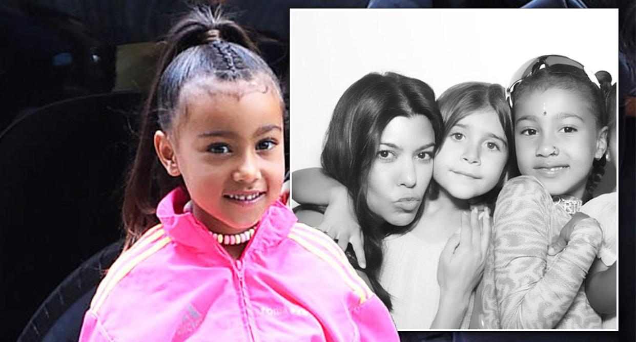 ca5255a3c Kim Kardashian criticised for daughter's fake nose ring