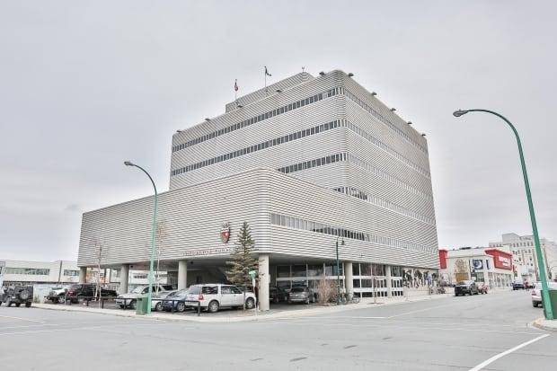 N.W.T. Supreme Court Justice Andrew Mahar ordered the publication ban Monday in a Yellowknife courtroom. (Chantal Dubuc/CBC - image credit)
