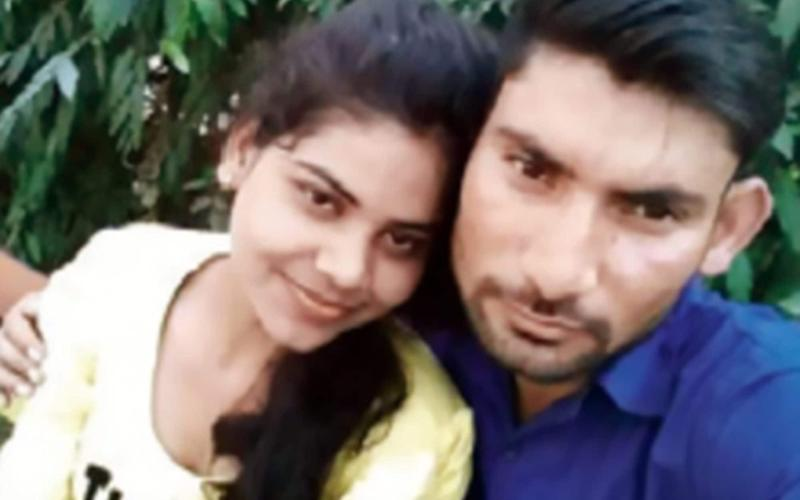 Rachna Sisodia with husband Devesh Chaudhary. - Central European News (CEN) accepts no liability for any damages, loss or legal action resulting from the use of images supplied